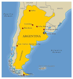Arjantin Haritasi 2