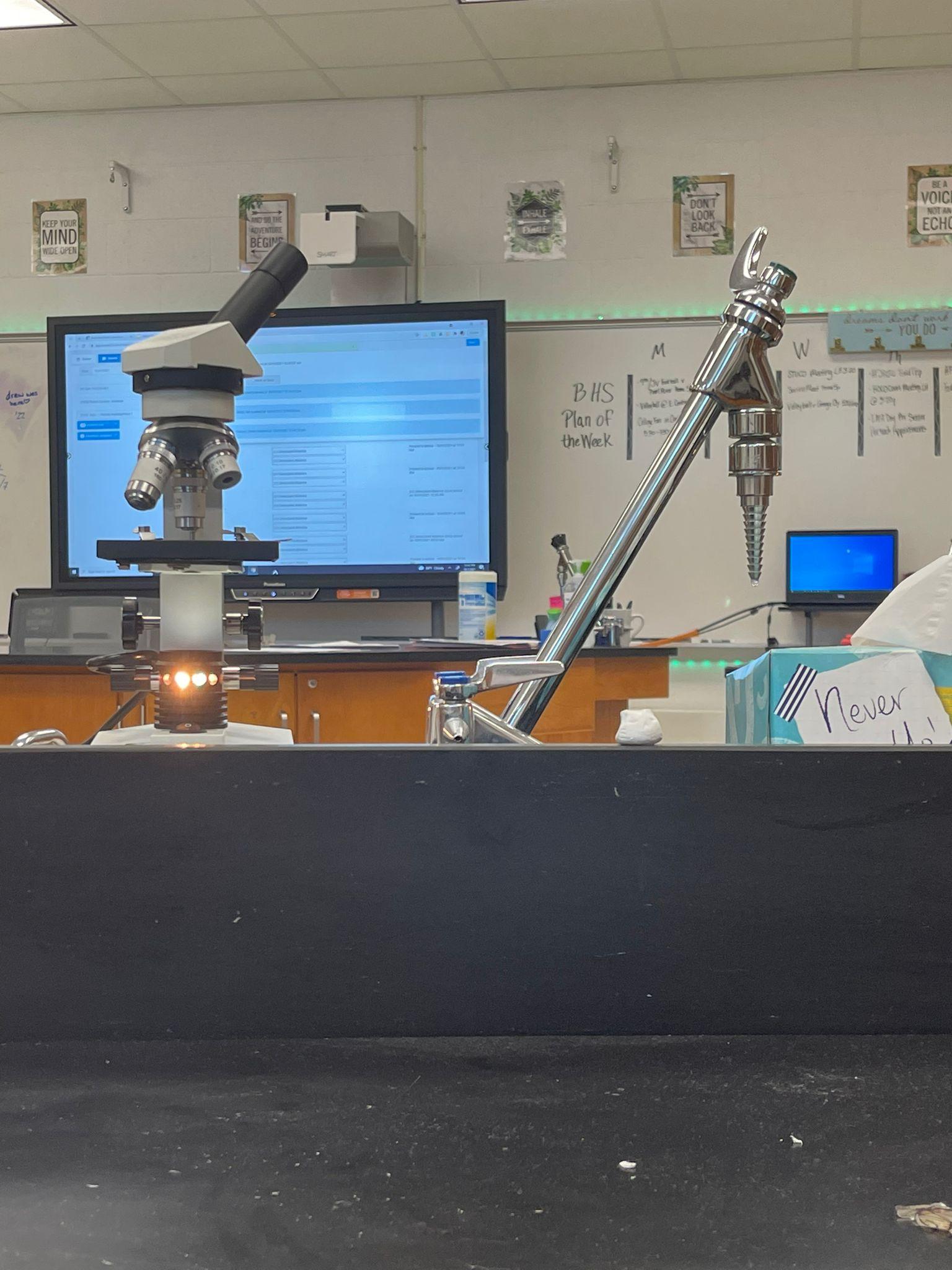 Denizin biyoloji dersinde